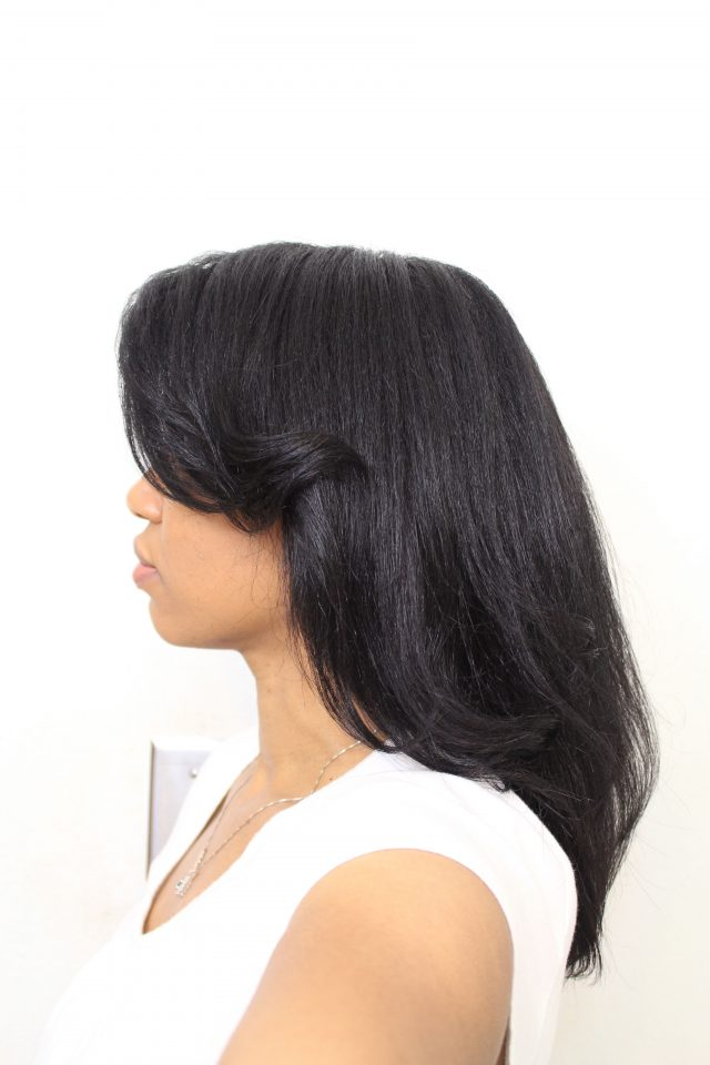 curlyincolorado.com straight natural hair dyed with henna and indigo