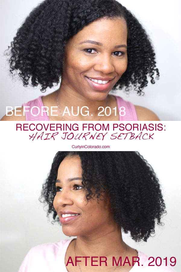 natural curly hair before and after hair setback
