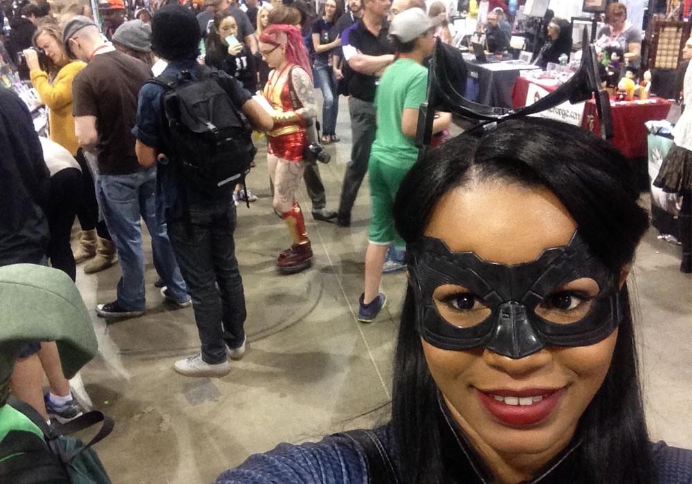 Comic Convention selfie
